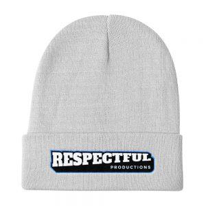 Respectful Logo Knit Beanie